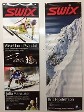 Original Ski Poster For Swix Ski Poles And Equipment Double Sided