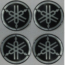 4x Badge Emblem Gas Cover Decal Stickers For Yamaha YZF R1 R6 YZ FZ1 FZS FZ6 PW