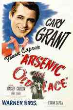 Film Arsenic And Old Lace 01 A3 Box Canvas Print
