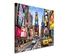 120x80cm Leinwandbild auf Keilrahmen New York City Time Square