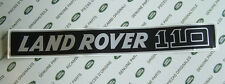 Land Rover Defender 110 V8 TDi Bonnet Badge Decal Label Genuine Parts MUC2003