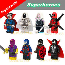 8pcs Dr.Strang Spawn Aton Minifigures Superheroes Character Building Block Toy