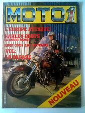 MOTO 1 n°2 de 1982 Harley-Boots/ Super Cross 250 en France/ Vol; la Parade