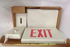 UNKNOWN MFG * AC LED EXIT SIGN  * ULAURW