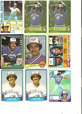 18 CARD LUIS LEAL BASEBALL CARD LOT            43
