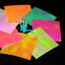 Shiny Pearl Opal Mini Crane Bird Origami Paper Free Ship