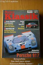 Motor Klassik 4/94 Porsche 917 Volvo Ford Mustang