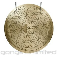 "16"" Flower of Life Wind Gong with Mallet"