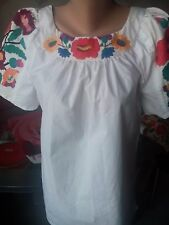 Ukrainian embroidered blouse, S-M(or other), Ethnic fashion