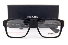 Brand New Prada Eyeglass Frames PR 17SVF 1AB 1O1 Black for Men Size 55