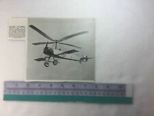 early Autogiro aircraft 1926? R.A.C. Brie period vintage