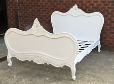 Antique Reproduction French Provincial Queen Size Bed New