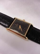 14K solid yellow gold Concord Mens Wrist Watch