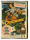 Crosswinds 1951 DVD - John Payne, Rhonda Fleming, Forrest Tucker
