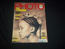 2006 MARCH FRENCH PHOTO MAGAZINE - ASHES & SNOW -BEAUTIFUL FASHION COVER- F 3040