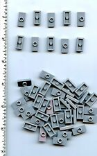 LEGO x 52 Light Bluish Gray Plate, Modified 1 x 2 with 1 Stud (Jumper) NEW