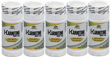 5 bottles L-Carnitine 500mg 600 caps fat metabolism and heart health muscular