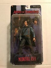NECA Army of Darkness Medieval Ash Evil Dead Cult Classics Action Figure Rare