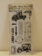 Tim Holtz ~ The Journey ~ Cling Mount Stamp Set ~ NIP