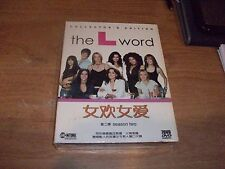 The L Word Season Two Collector's Edition Chinese Version (DVD 2004 7-Disc) NEW