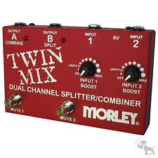 Morley Twin Mix ABY Selector Splitter  Combiner Pedal