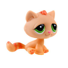 Littlest Pet Shop LPS Orange Cat Kitty Rare Hasbro Gift Toy Animals