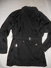 PRADA milano QUALITY WATERPROOF MATERIAL FABULOUS TRENCH COAT/JACKET SIZE 44