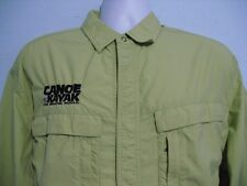 Exofficio Mens size XL Fishing Canoe Kayak Vented Button Front Outdoors Shirt