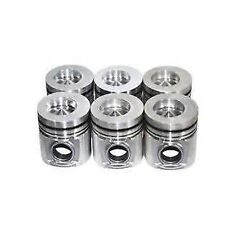 DODGE CUMMINS DIESEL 5.9L OHV L6 12V 1989-1991 OFFSET BOWL PISTONS SET