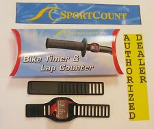 *NEW* Sportcount VELO-X Ring Lap Timer Counter Stopwatch WATERPROOF Bike BMX