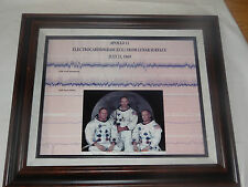 Apollo 11 Lunar ECG  Framed