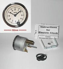 MAGNOLIA FACED SMITHS Analogue Classic Clock for MG Cars 1950-70s MGA MGB Midget