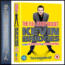 KEVIN BRIDGES - THE FULL STORY  **BRAND NEW DVD **