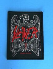 Lot of 3 Slayer Band Eagle Iron On Patches! New Metallica Megadeth Anthrax
