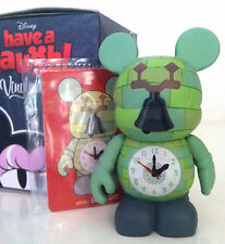 "DISNEY VINYLMATION 3"" HAVE A LAUGH SERIES CLOCK TOWER w/ CARD MICKEY MOUSE BROOM"