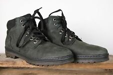 TIMBERLAND Black Nubuck Leather Mid Ankle Chukka Boots Women's Sz. 8M