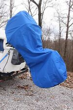NEW ROYAL BLUE VORTEX COMPLETE OUTBOARD MOTOR COVER 'HOODIE' 100-150 HP