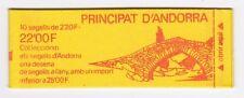 RC003486 ANDORRE CARNET N° 2 BLASON 2f20 X10 NEUF **
