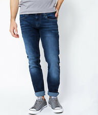 Pepe Jeans London HATCH Slim Stretch Jeans/Top Blue - 34/34 SRP £85.00 NEW A16