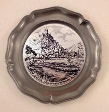 Mr Cornelis W Kroes Dutch Steamer Cruise Ship Pewter Souvenir Plate & Box KOZIOL