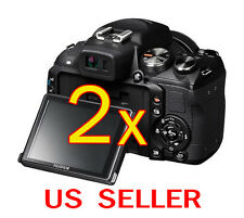 2pcs Fujifilm FinePix HS25EXR Clear LCD Screen Protector Guard Shield Film