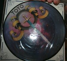 """TOTO - HOLD THE LINE 7"""" ORIGINAL PICTURE DISC"""