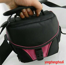 CAMERA BAG case for Nikon D3000 D50 D5000 D60 P500 P5100 D5100 D80 D90 PINK