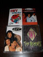 SWV New Beginning The Remixes Spinnin Flava Promo Cassette Tape Lot