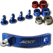 ADD W1 Short Shifter + Base Bushings + Cable Bushings for Honda SI EP3 BLUE