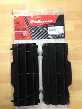 POLISPORT RADIATOR LOUVRES RAD GUARDS KTM EXC EXC-F 08-15 BLACK MX ENDURO