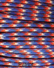 Paracord Type III 7 strand 550 parachute cord 1 - 1000 ft