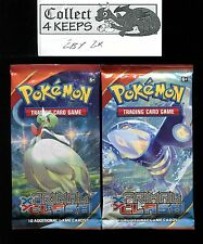 Pokemon XY Primal Clash Unopened Booster Pack x2 (10 cards per pack)