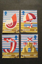 GB Jersey 1975 Commemorative Stamps~Tourism~Very Fine Used Set~UK Seller