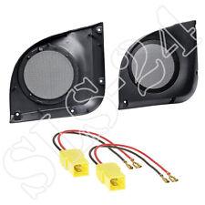 Lautsprecherringe 165mm+LSP Boxen KFZ Adapter für Fiat Punto 188 12/1999-04/2007